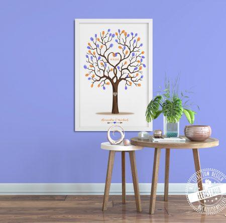 Hochzeitsbaum für Hochzeitsgäste