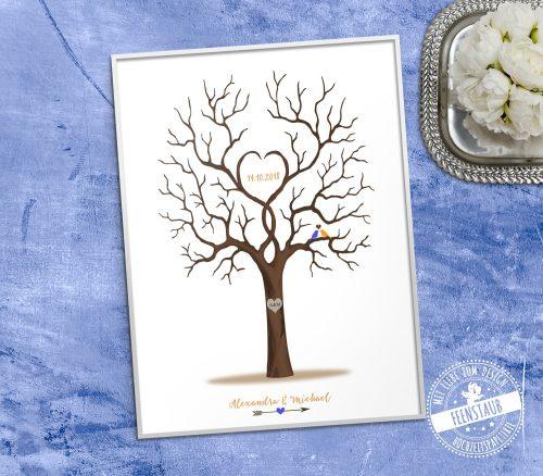 Weddingtree für Hochzeitsgäste