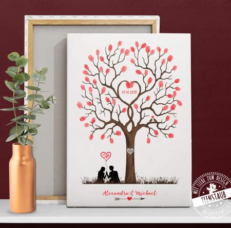 Weddingtree in Rot