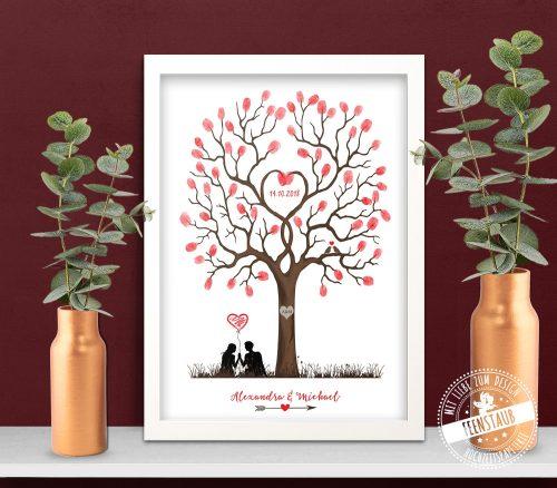 Hochzeitsbaum als Geschenk