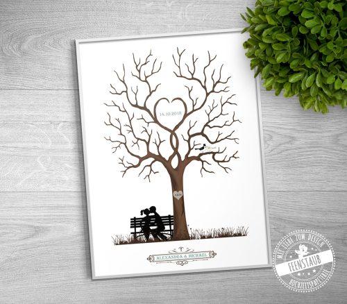 Hochzeitsbaum als Hochzeitsgeschenk