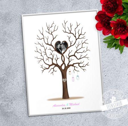 Weddingtree mit Foto