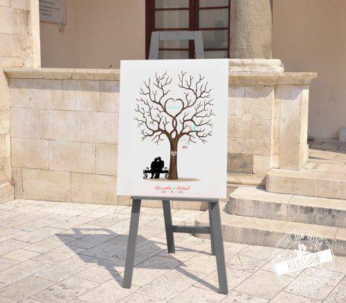 Hochzeitsbaum auf Staffeilei