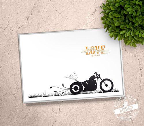 Bike, als Gästebaum auf Hochzeit