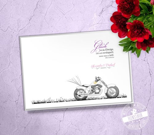 Weddingtree Motorrad