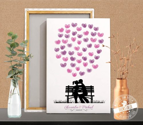 Weddingtree mit Herzen