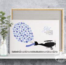 Gästebaum als Flugzeug