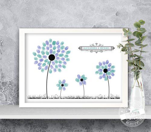 Pusteblumen als Gästebaum
