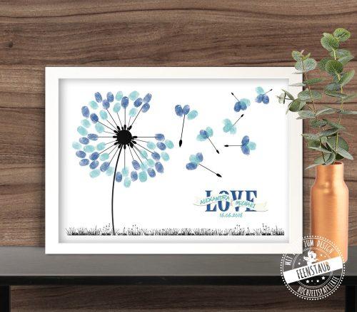 Pusteblumen Löwenzahn Hochzeitsbaum
