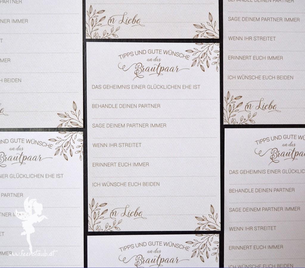 Feenstaub Hochzeitspapeterie Hochzeitseinladung Gastebuch