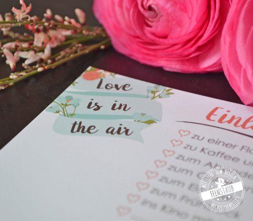 Ballonkarten für Hochzeitsgäste vorgedruckt