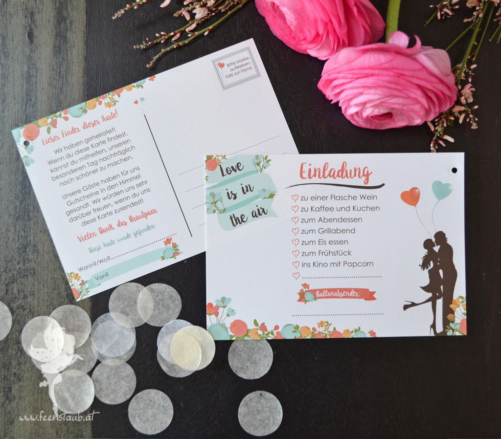 Hochzeitseinladungen wien 1070