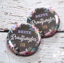 Button für Brautjungfern