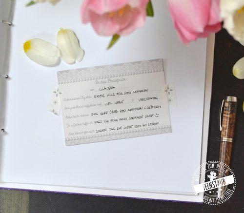 Vorgedruckte Fragen für Hochzeitsgäste