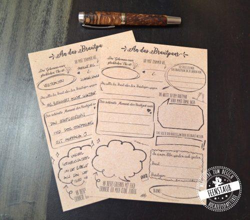 Colles Gästebuch für Hochzeit