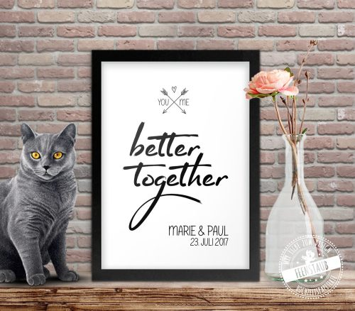 You and me - better together Poster