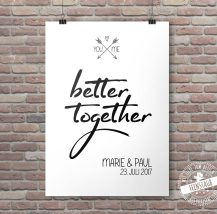 You and me - better together
