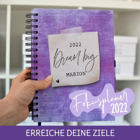 Taschenkalender 2022 um deine Ziele zu erreichen