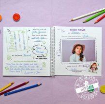 Schulabschiedsgeschenk für Lehrer, Schüler Steckbriefe als Buch