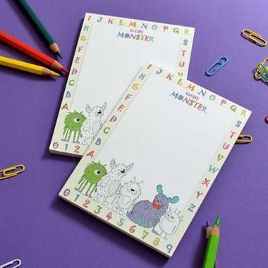 A6 Block für Kinder im Grundschulalter, Platz zum Schreiben und Zeichnen