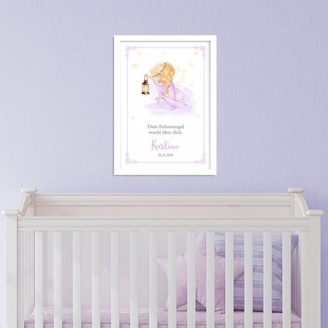 Schutzengel Bild fürs Kinderzimmer