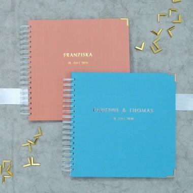 Gästebuch zur Hochzeit mir Fragen oder leer