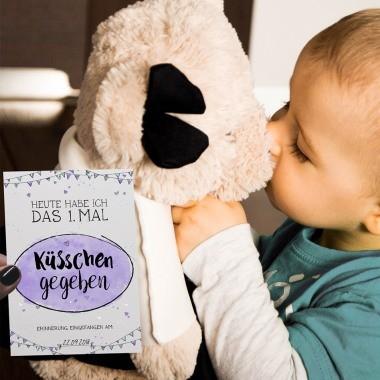 Milestones Karten als Geschenk zur Geburt eines Babys