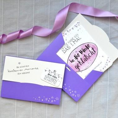 Baby Meilenstein Karten als Geschenk zur Geburt