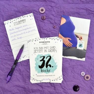 Milestones, die Alternative zum herkömmlichen Tagebuch in der Schwangerschaft