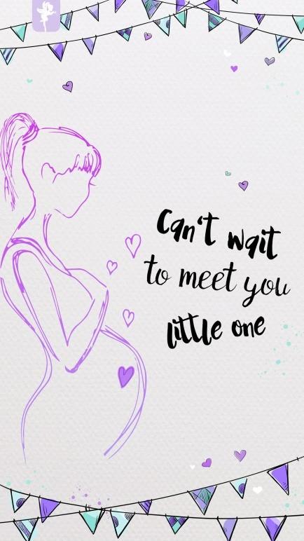 Wallpaper für Schwangerschaft