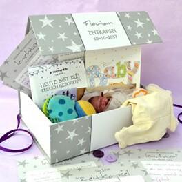 Zeitkapsel Box für Baby