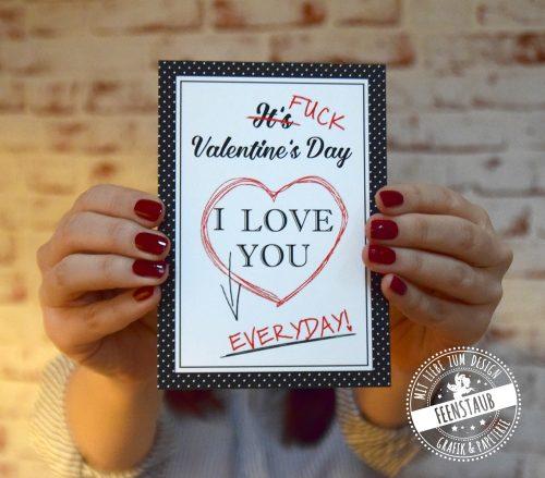 Valentinskarte, Fuck Valentine