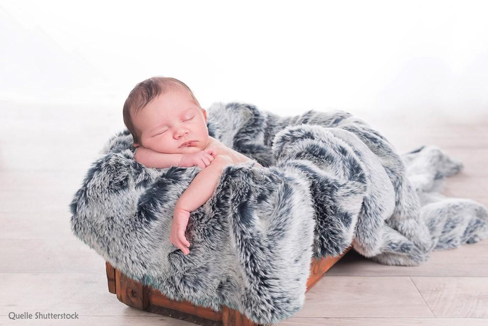 Babykarte Foto Neugeborenes