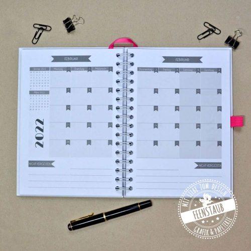 Individueller Kalender für 2022