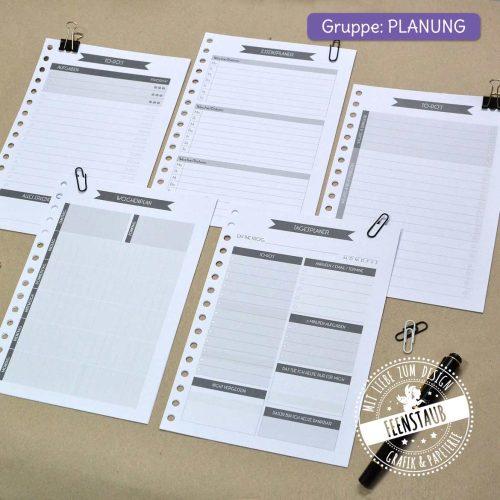 Kalender Module und Einzelblätter