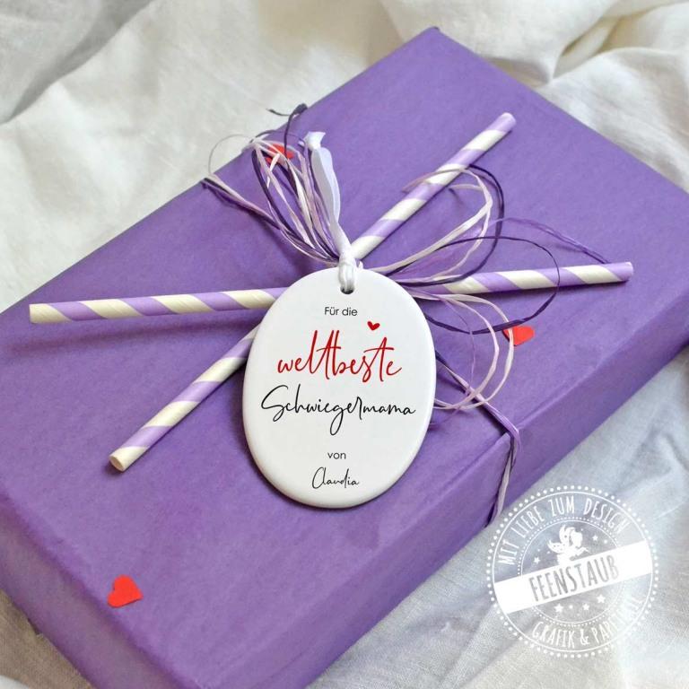 Persönliches Geschenk zum Muttertag für die weltbester