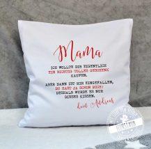 Ich wollte dir eigentlich ein tolles Geschenk kaufen - Muttertag Geschenkidee Kissenüberzug