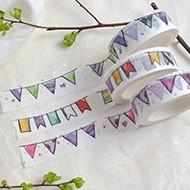 Washi Tapes für Geburtstag und Taufe