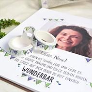 Washi Tape kreative Ideen für Gestaltung
