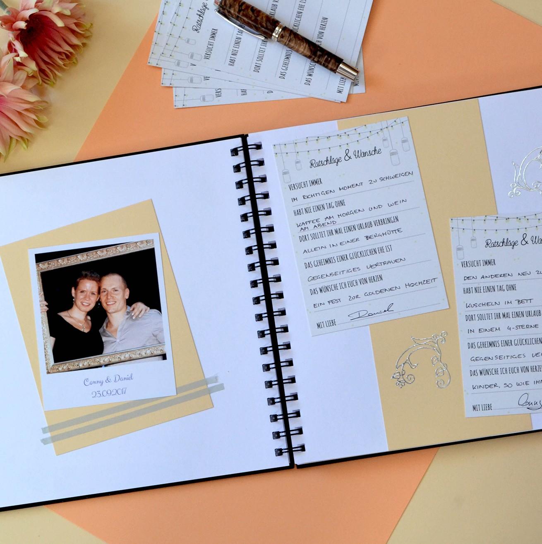 Hochzeit Gastebuch Ausfullen Alternative Fragen Stammbuch
