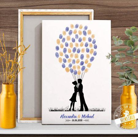 Weddingtree mit Liebespaar