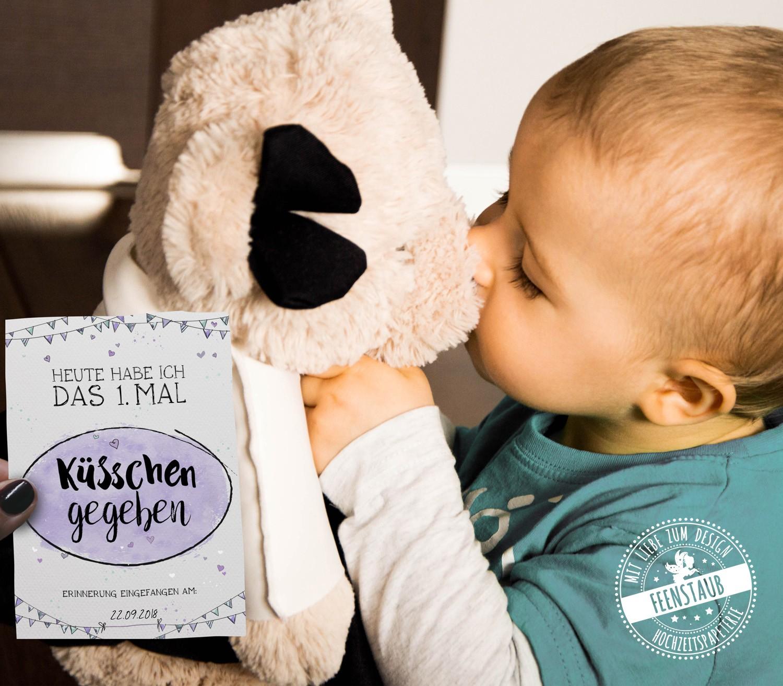Baby Meilensteinkarten fürs erste Jahr