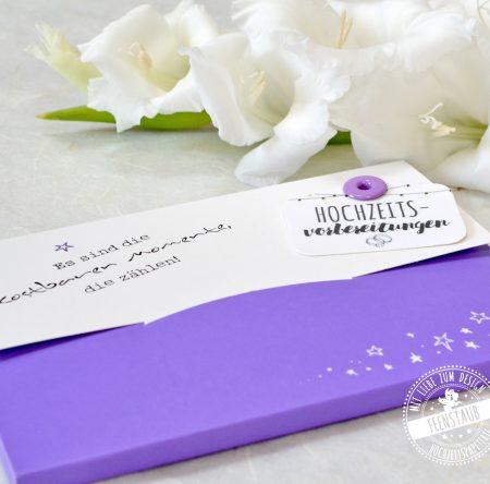 Milestone Karten für die Hochzeit
