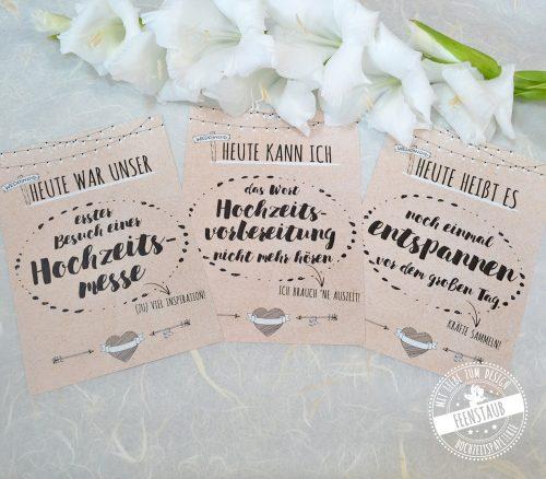 Milestone Karten Hochzeit