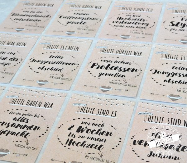 Milestone Cards Wedding