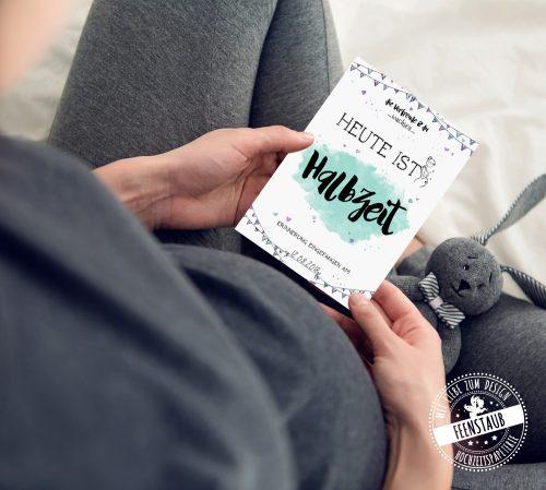 Geschenk für Schwangere - milestones Karten