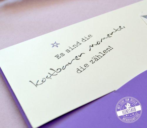 Kuvert für Meilensteinkarten