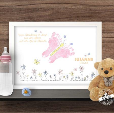 Bild für Fußabdruck des Babys