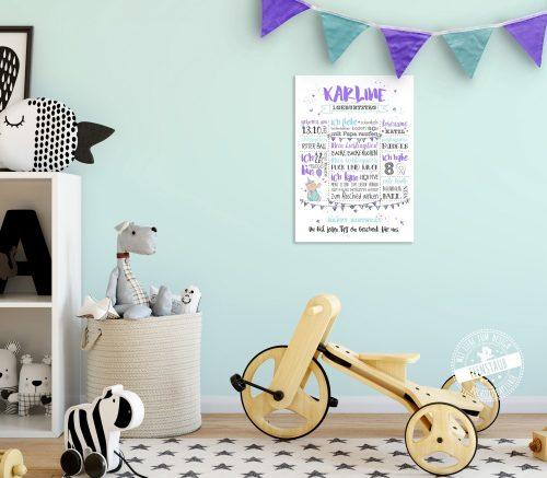 Babyprint für den ersten Geburtstag