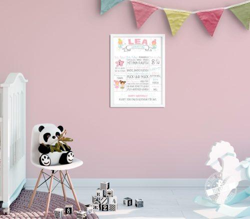 Babyprint für Kinderzimmer